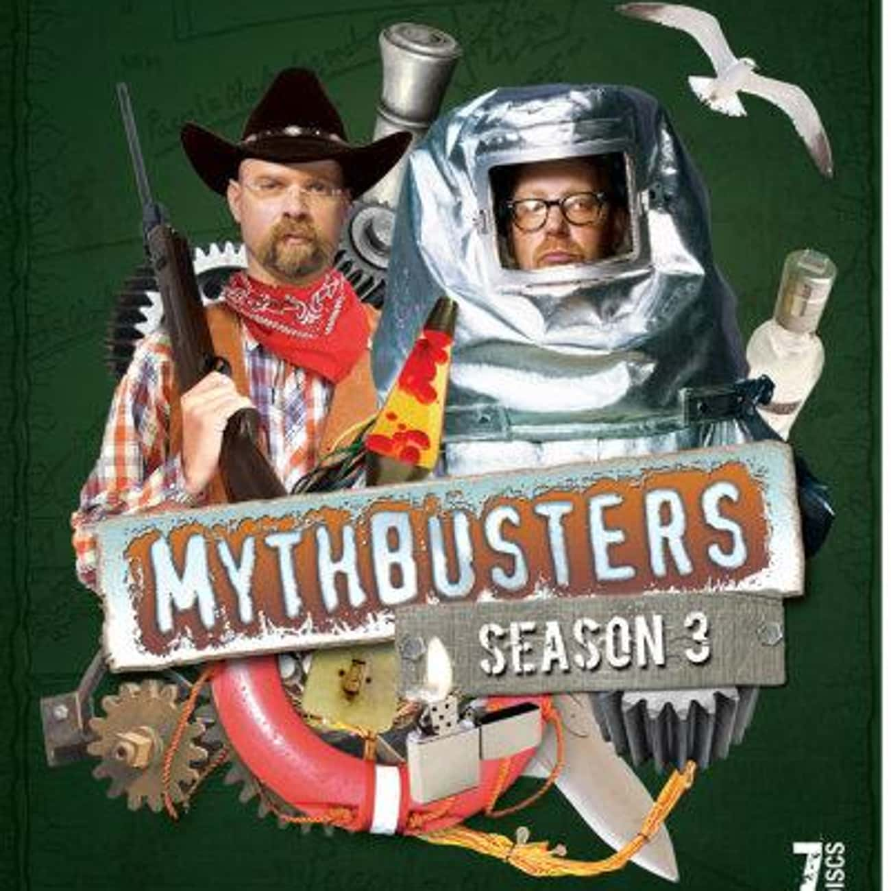 MythBusters Season 3 is listed (or ranked) 3 on the list The Best Seasons of MythBusters