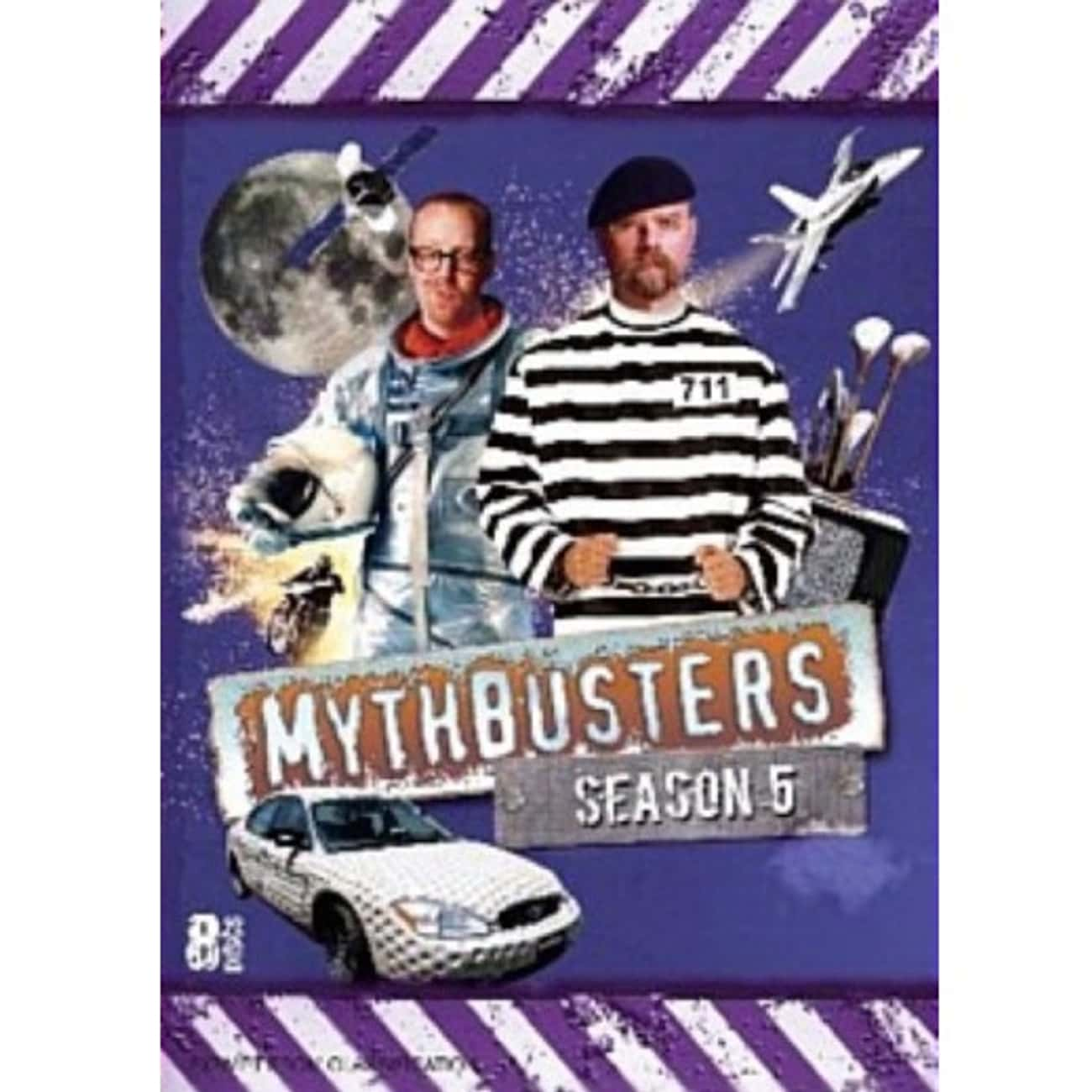 MythBustersSeason 5 is listed (or ranked) 4 on the list The Best Seasons of MythBusters