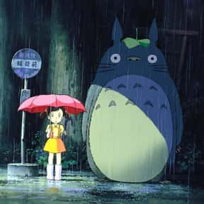 My Neighbor Totoro is listed (or ranked) 13 on the list The Best Anime to Watch While You're Stoned