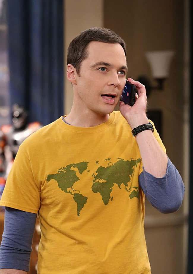 Sheldon Cooper is listed (or ranked) 5 on the list Straight Characters Played By Gay Actors