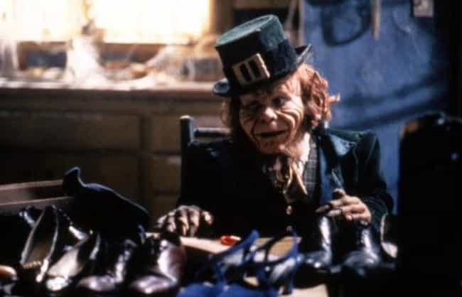 The Leprechaun is listed (or ranked) 4 on the list 15 Supposedly Scary Movie Monsters Any Idiot Could Have Easily Defeated