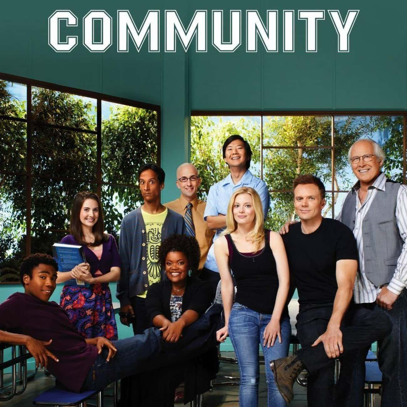 Community is listed (or ranked) 3 on the list You've Found The Best TV Shows About Found Families