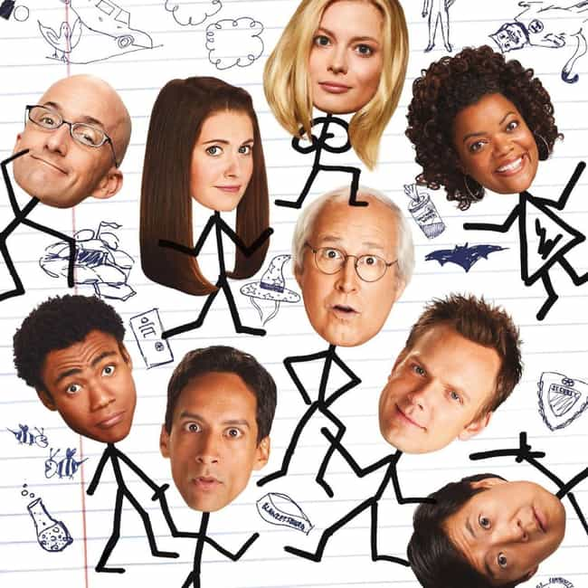 Community is listed (or ranked) 2 on the list What to Watch If You Love 'The Office'