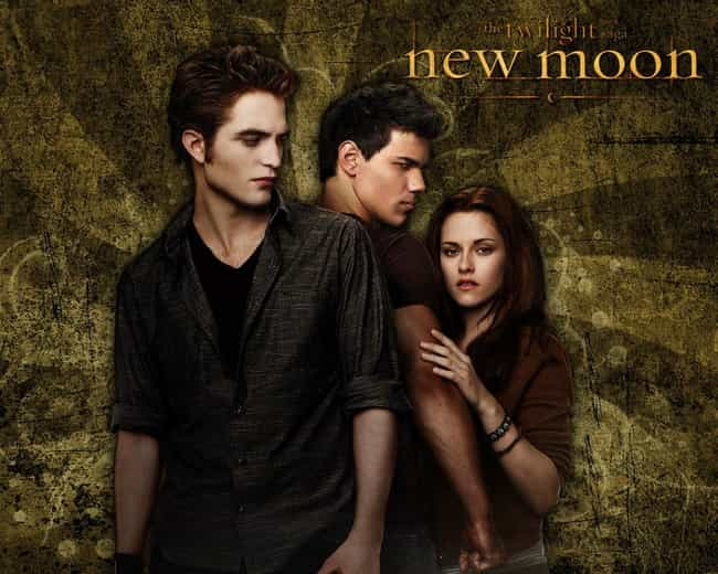 The Twilight Saga: New M... is listed (or ranked) 1 on the list The Most Unforgettable Movie Love Triangles