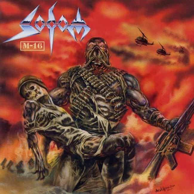 M-16 is listed (or ranked) 3 on the list The Best Sodom Albums of All Time