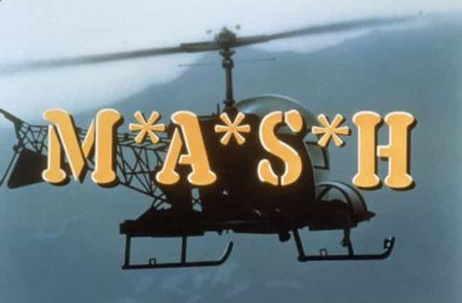 M*A*S*H is listed (or ranked) 2 on the list The Best 1980s Dark Comedy TV Shows