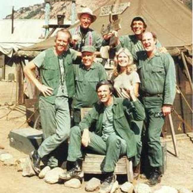 M*A*S*H is listed (or ranked) 1 on the list The Best 1970s Medical TV Shows