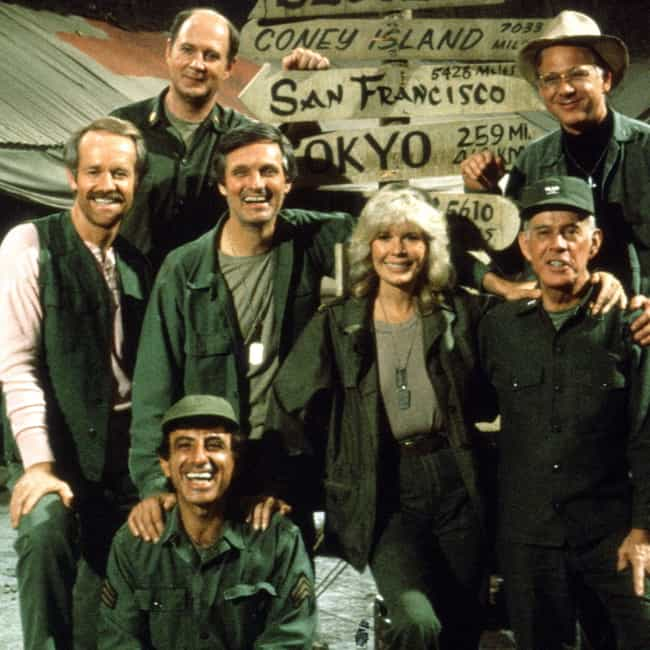 M*A*S*H is listed (or ranked) 1 on the list The Best 1970s Military TV Shows