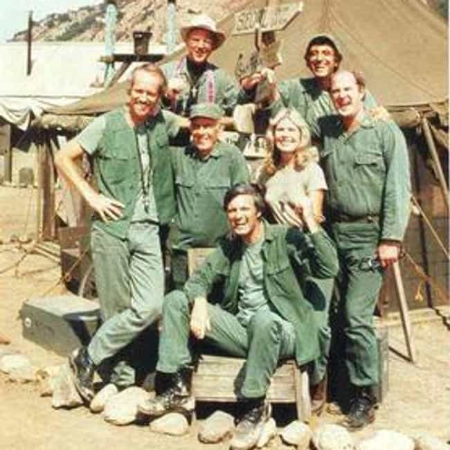 M*A*S*H is listed (or ranked) 1 on the list The Best 1980s Military TV Shows