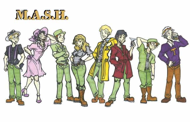 M*A*S*H is listed (or ranked) 8 on the list What Your Favorite Sitcoms Would Look Like as Cartoons
