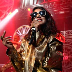 M.I.A. is listed (or ranked) 20 on the list Roc Nation Complete Artist Roster