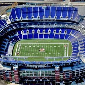 M&T Bank Stadium is listed (or ranked) 8 on the list The Best NFL Stadiums
