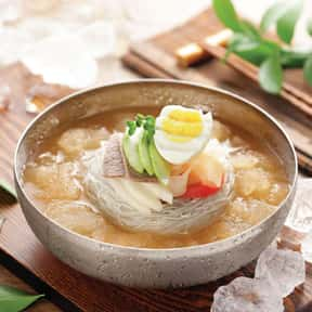 Naengmyeon is listed (or ranked) 13 on the list The Best Korean Food