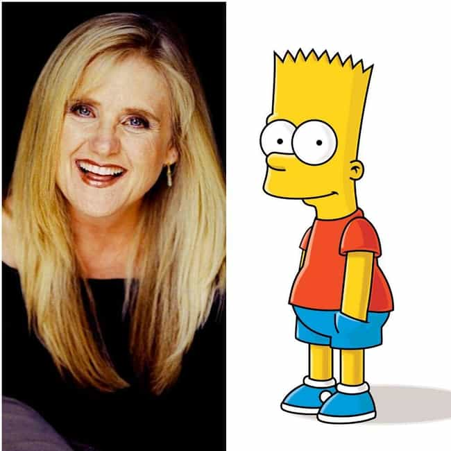 Nancy Cartwright is listed (or ranked) 1 on the list 18 Voice Actors Who Look Nothing Like Their Characters