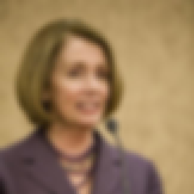 Nancy Pelosi is listed (or ranked) 4 on the list Famous People who Majored in Political Science