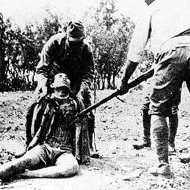 Nanking Massacre is listed (or ranked) 1 on the list Horrific Japanese Crimes in WWII That History Forgot