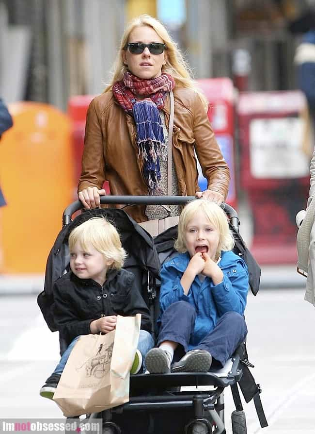 Naomi Watts is listed (or ranked) 4 on the list Famous Moms Who Only Have Sons