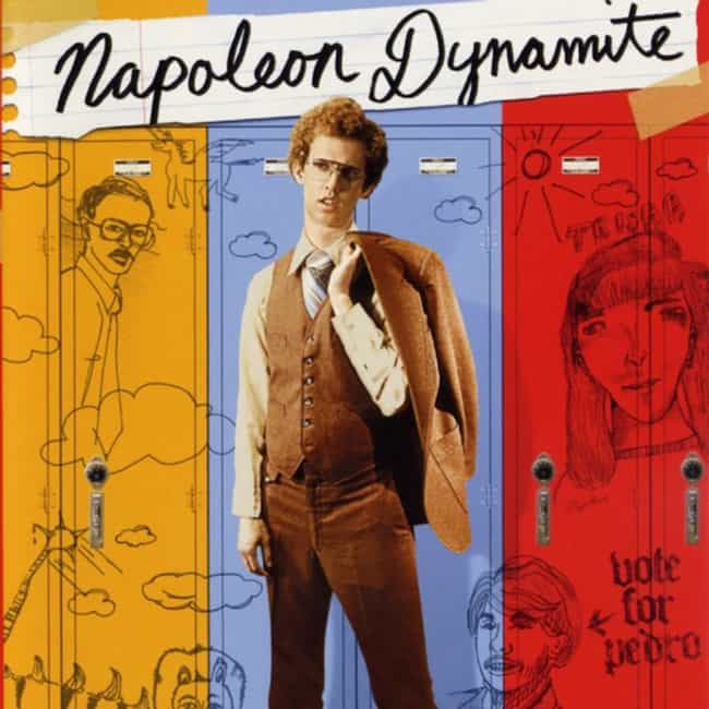 Napoleon Dynamite is listed (or ranked) 2 on the list The Top Most Annoyingly Over Quoted Movies