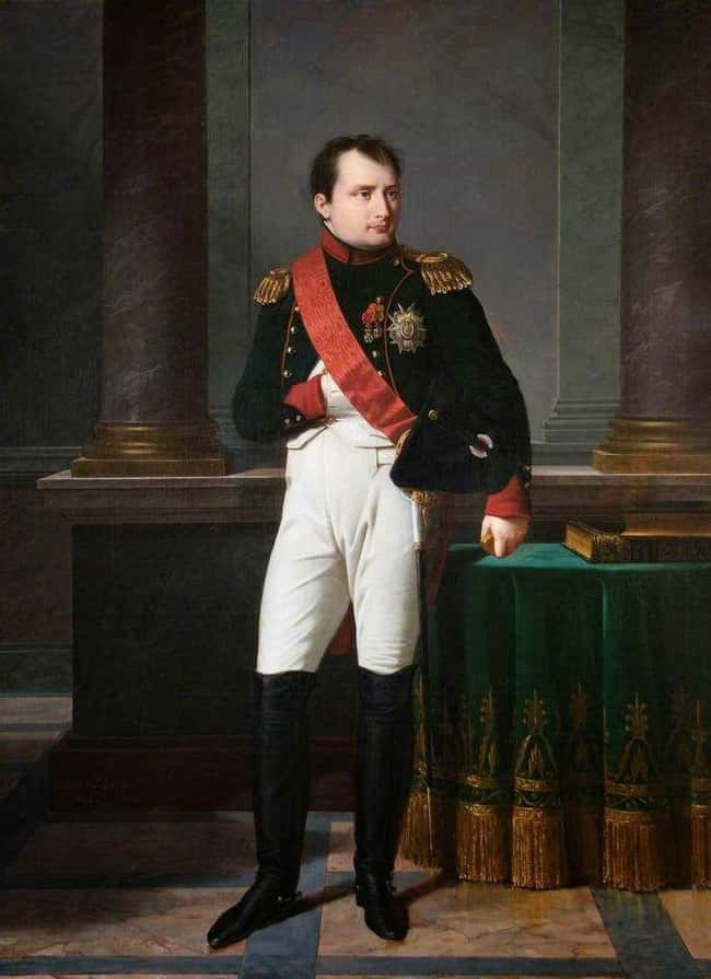 Napoleon Bonaparte is listed (or ranked) 5 on the list Famous Penises That Went Down in History