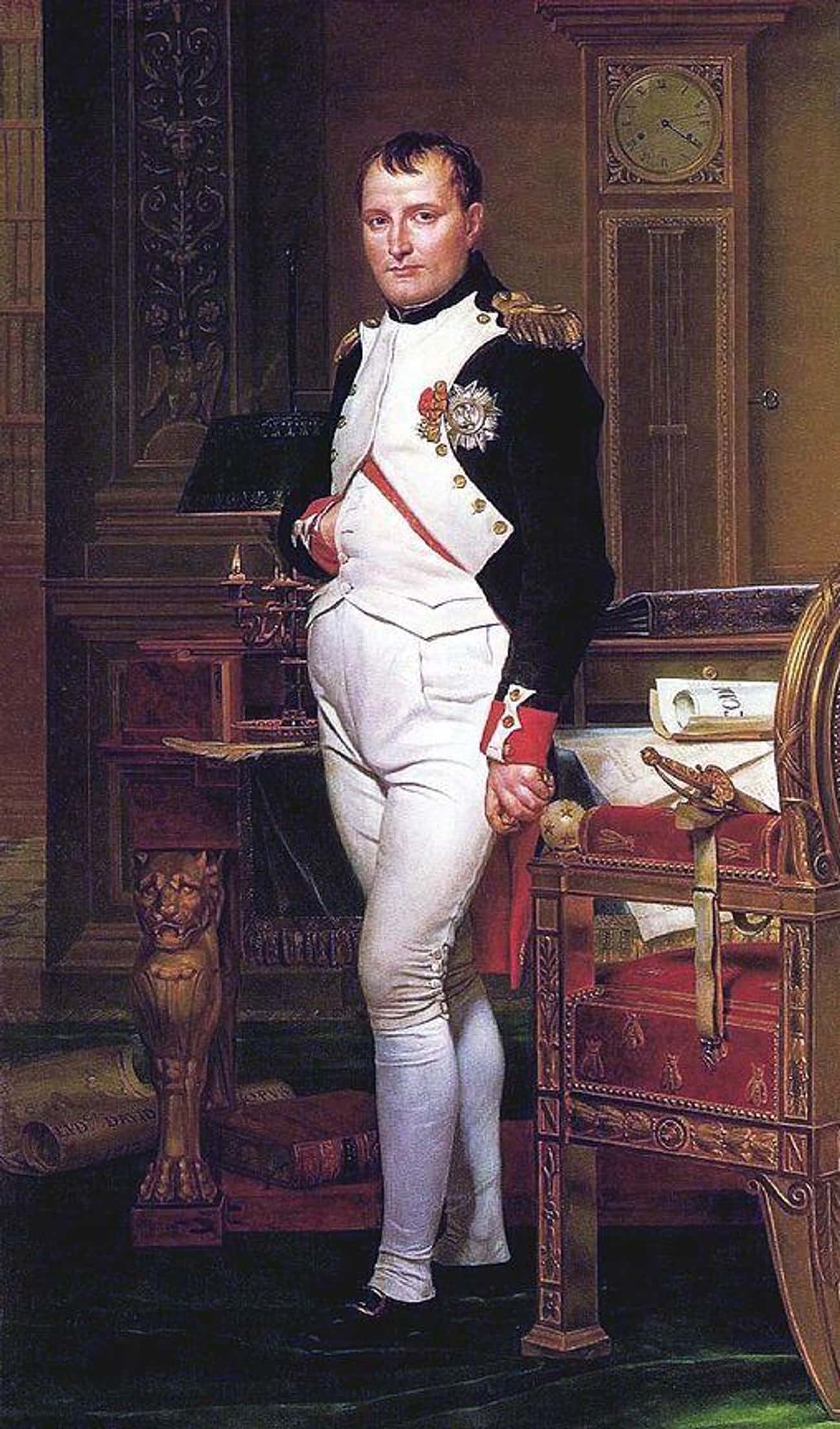 Napoleon Bonaparte, 5'6&#3 is listed (or ranked) 26 on the list 26 Intimidating World Leaders Who You Never Realized Were Super Short