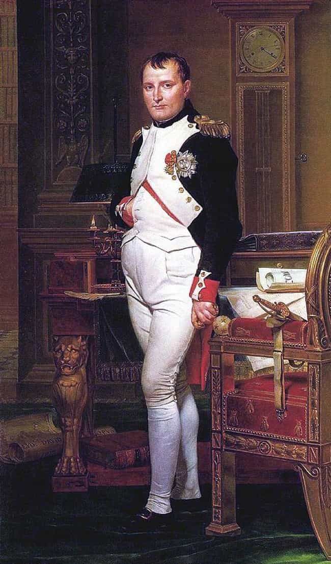 Napoleon Bonaparte is listed (or ranked) 26 on the list 26 Intimidating World Leaders Who You Never Realized Were Super Short