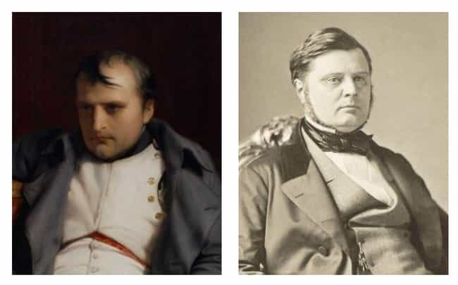 Napoleon Bonaparte is listed (or ranked) 4 on the list Historical Figures Whose Descendants Looked Just Like Them