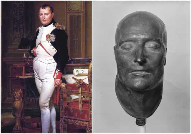 Napoleon Bonaparte is listed (or ranked) 4 on the list Here's What Famous Historical Figures Really Looked Like