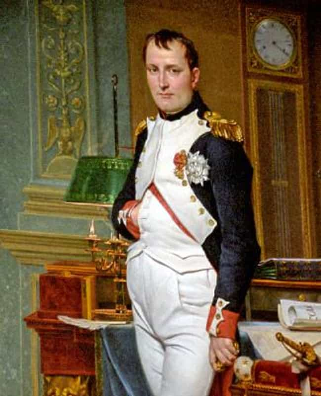 Napoleon Bonaparte is listed (or ranked) 1 on the list 20 Famous Figures With Unusual Final Wishes