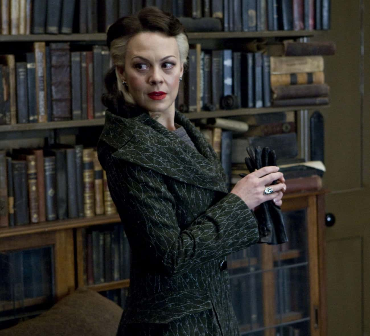Narcissa Malfoy is listed (or ranked) 4 on the list The Luckiest Characters In The 'Harry Potter' Film Franchise