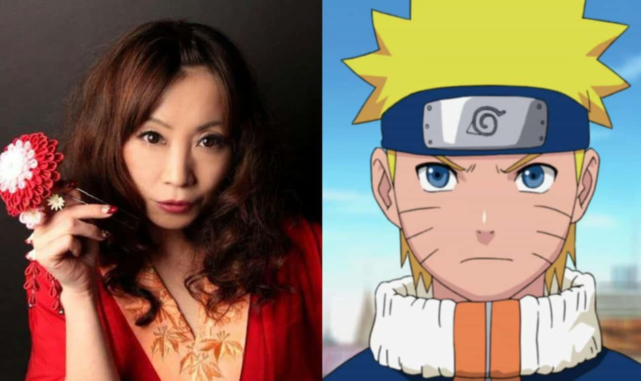 Junko Takeuchi Is The Voice Of Uzumaki Naruto