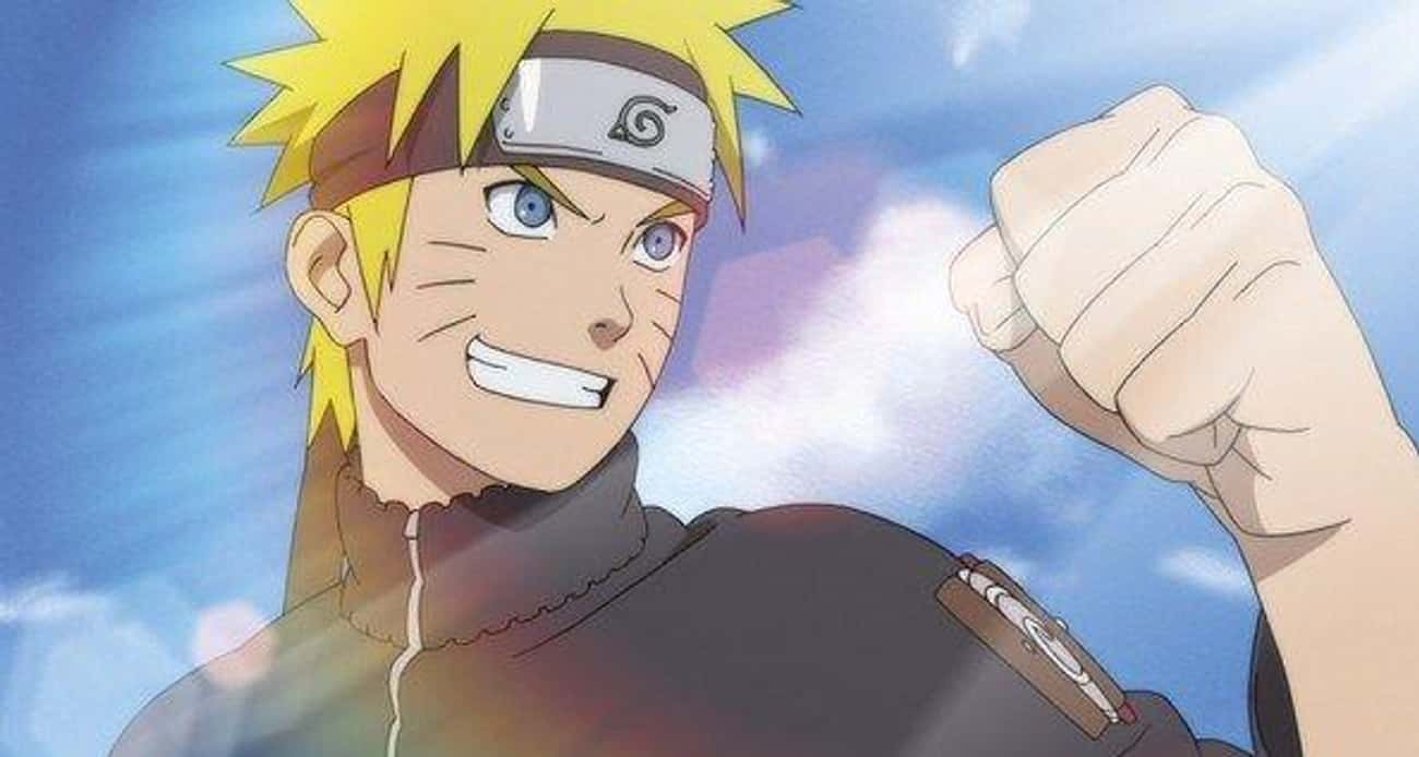 Naruto Uzumaki (Naruto) is listed (or ranked) 4 on the list What Your Favorite Anime Character Says About You