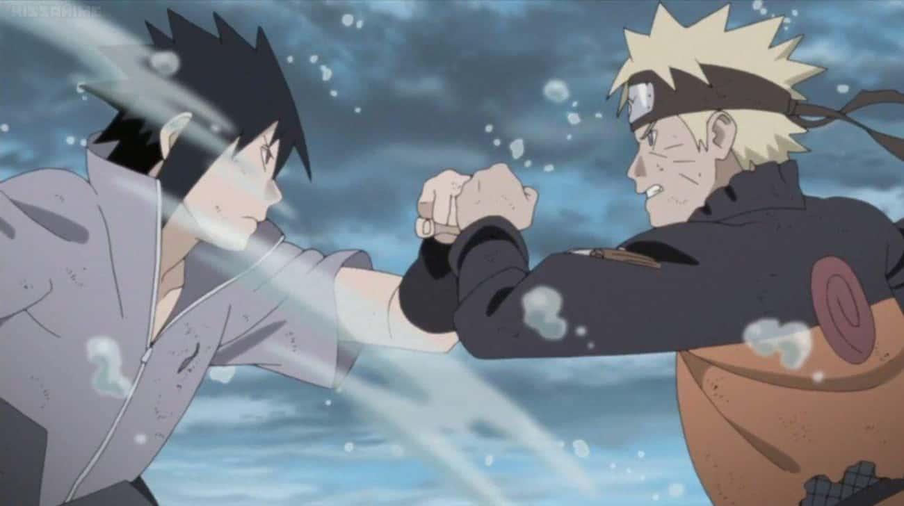 Naruto Uzumaki Vs. Sasuke Uchiha - 'Naruto'
