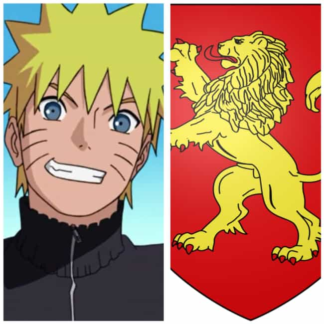 Naruto Uzumaki is listed (or ranked) 3 on the list Here's What Hogwarts House Your Favorite Naruto Characters Would Be Placed In