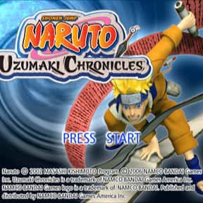 Naruto: Uzumaki Chronicles is listed (or ranked) 14 on the list The Best Naruto Video Games of All Time