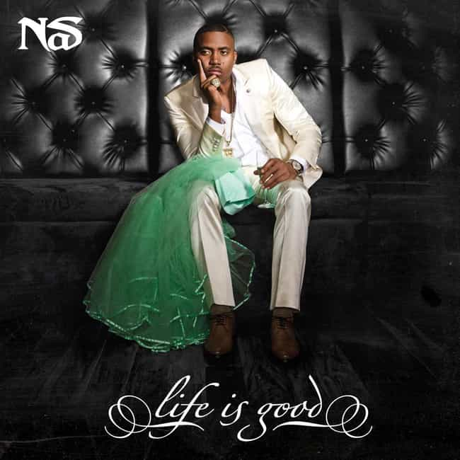Nas is listed (or ranked) 4 on the list The Best Dressed Rappers