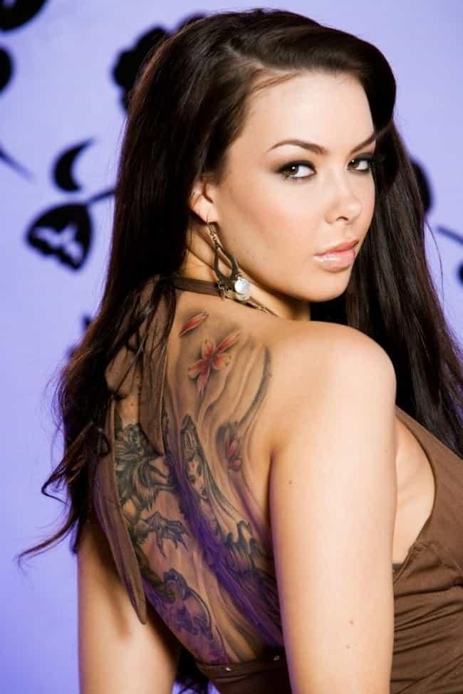 pornstar with gun tattoos