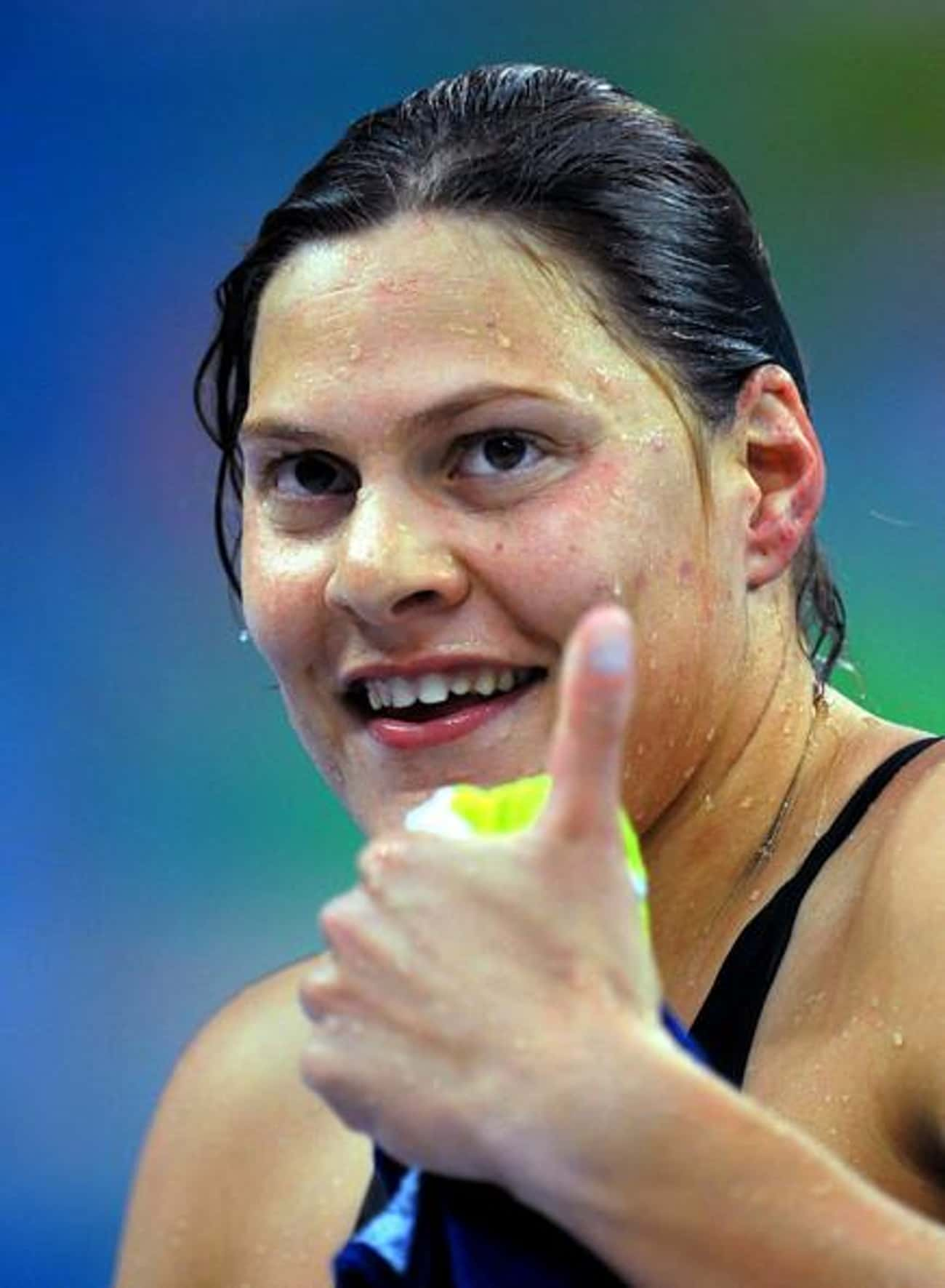 Natalie du Toit is listed (or ranked) 4 on the list 18 Famous Athletes Who Are Disabled