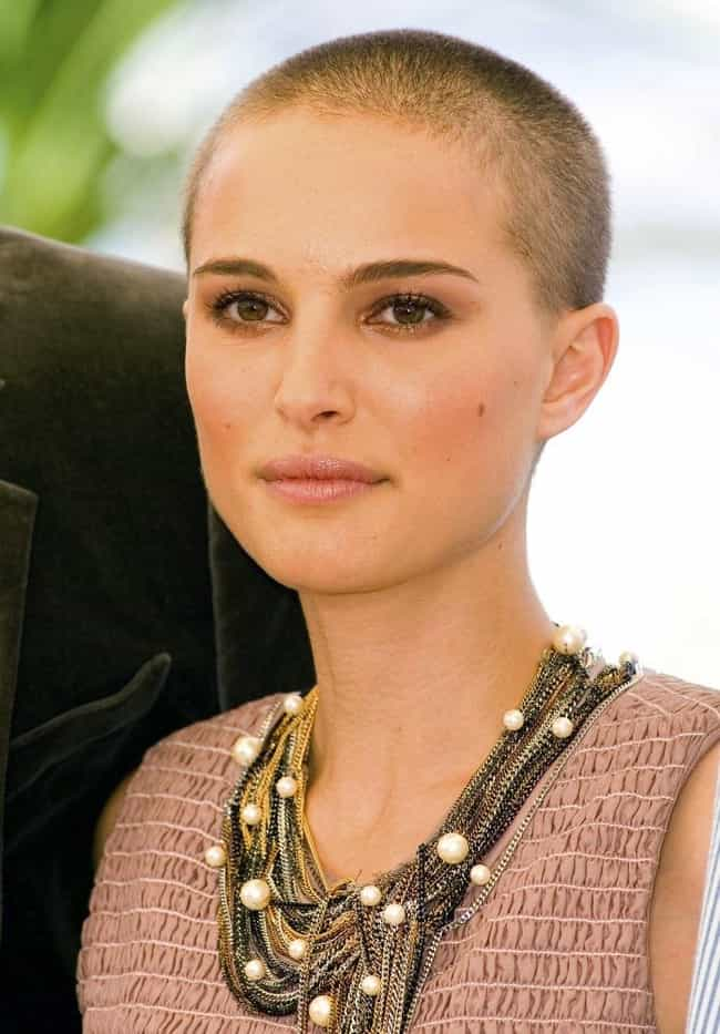 Natalie Portman is listed (or ranked) 2 on the list Beautiful Celebrity Women Who Shaved Their Heads