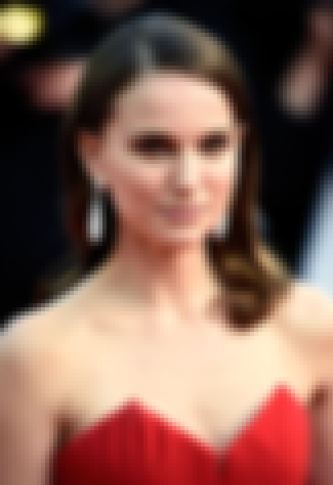 Natalie Portman is listed (or ranked) 3 on the list The Most Powerful Celebrities: People's Choice