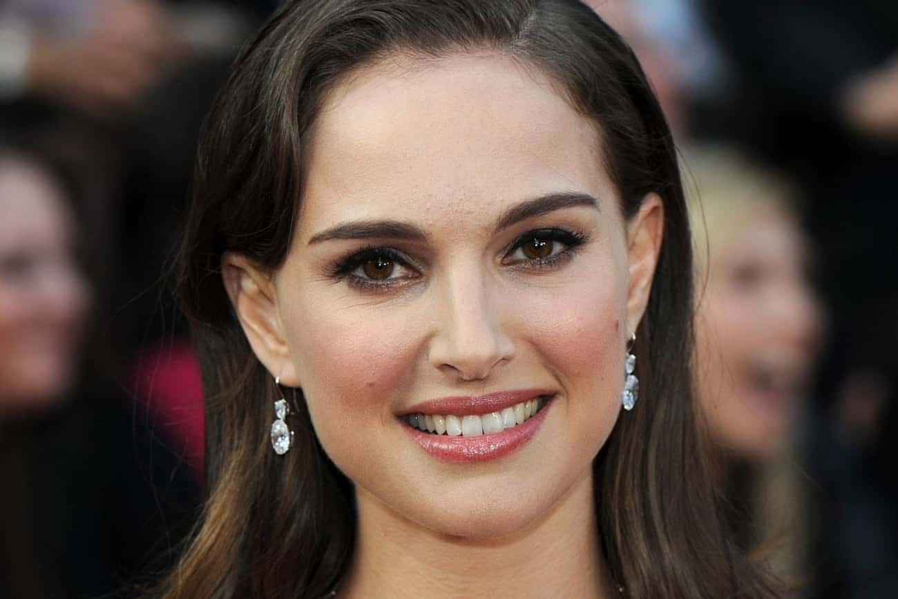 Natalie Portman is listed (or ranked) 4 on the list The Most Beautiful Celebrities Of Our Time