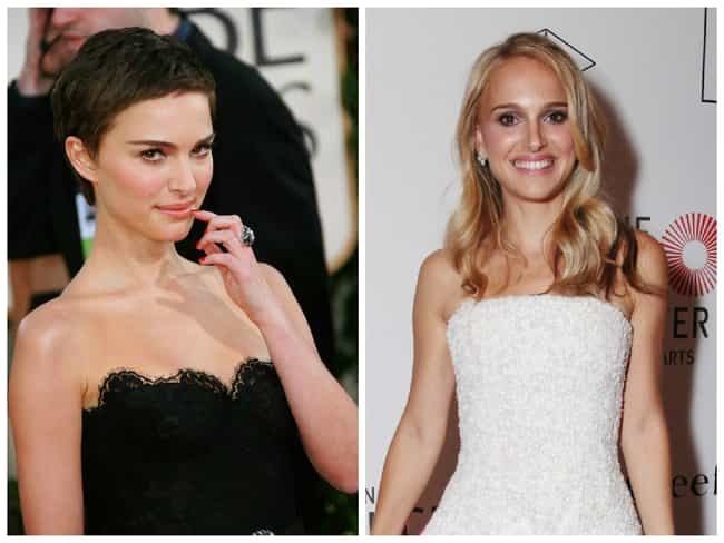 Natalie Portman is listed (or ranked) 3 on the list Celebrities Who Dyed Their Hair Blonde