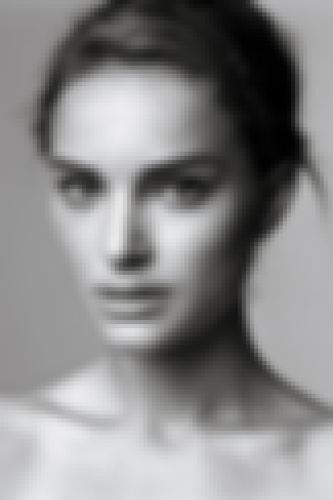 Natalie Portman is listed (or ranked) 3 on the list Could Your Face Be Any More Perfect?