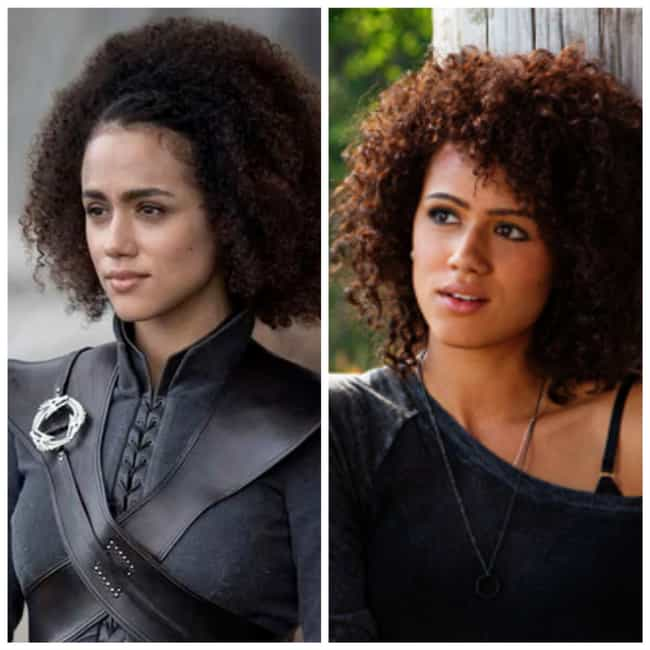 Nathalie Emmanuel is listed (or ranked) 3 on the list Times You've Seen the GoT Actors Before