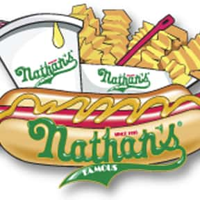 Nathan's Famous is listed (or ranked) 1 on the list The Hottest Hot Dog Brands Ever