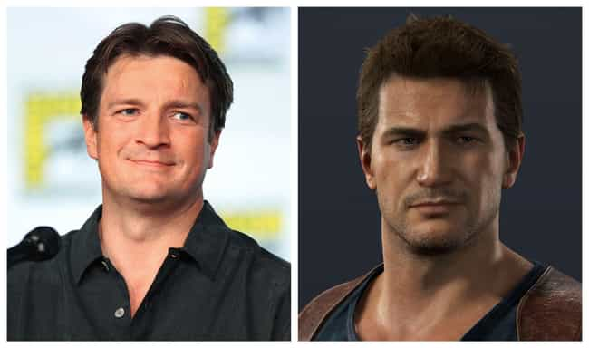 Nathan Fillion is listed (or ranked) 4 on the list 10 Actors And Actresses Who Want To Play Famous Video Game Characters In Movies