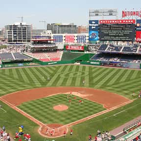 Nationals Park is listed (or ranked) 21 on the list The Best MLB Ballparks