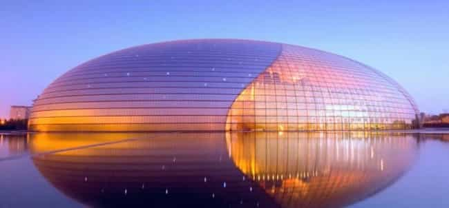 National Centre for the Perfor... is listed (or ranked) 4 on the list The Greatest Architectural Marvels On Earth