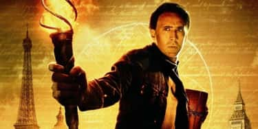 National Treasure (2004) is listed (or ranked) 1 on the list 12 Bad Nicolas Cage Movies That Are Actually Good