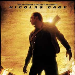 National Treasure is listed (or ranked) 1 on the list The Best Nicolas Cage Movies