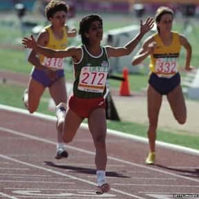 Nawal El Moutawakel is listed (or ranked) 1 on the list Famous Athletes from Morocco